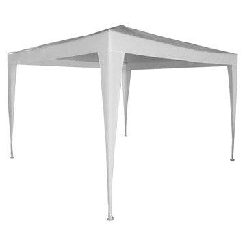 Tente autoportante Paris, acier blanche, 9 m²