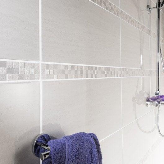 carrelage mural et faïence pour salle de bains et crédence de ... - Faience Salle De Bain Rose