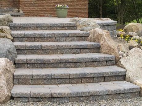 Comment cr er un escalier ext rieur en pierre leroy merlin for Escalier pierre exterieur