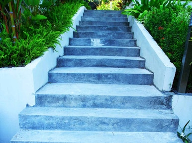 Comment Creer Un Escalier Exterieur En Beton Leroy Merlin