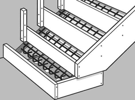 Comment Crer Un Escalier Extrieur En Bton   Leroy Merlin