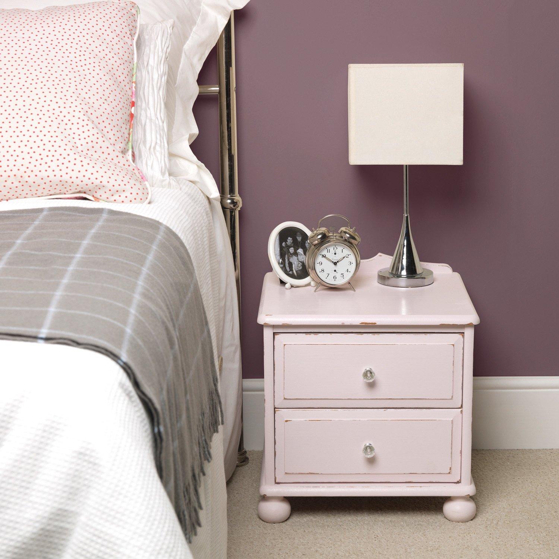 Une table de chevet rose pale leroy merlin - Table de chevet rose ...