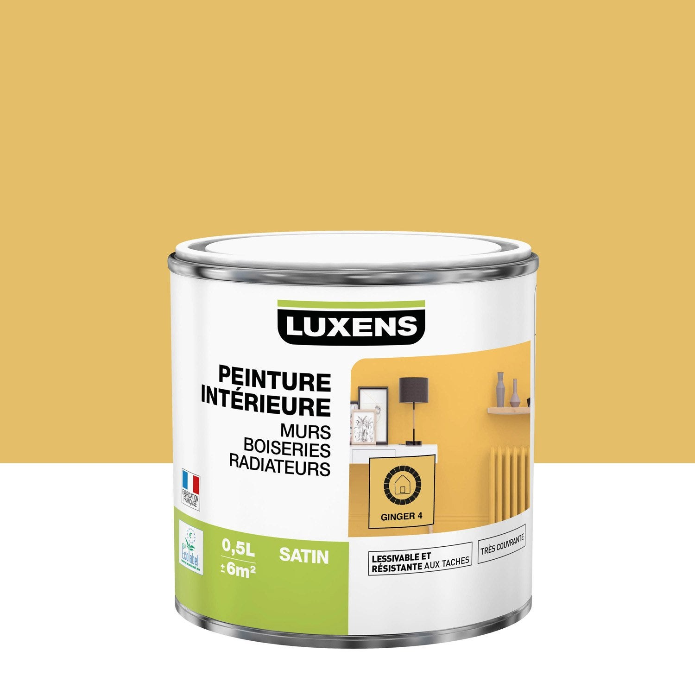 Peinture ginger 4 satin LUXENS 0.5 l