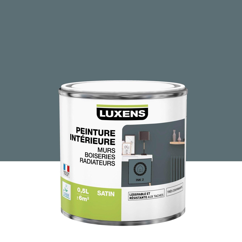 Peinture mur, boiserie, radiateur intérieur Multisupports LUXENS, ink 2, satin,