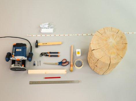 DIY Fabriquer Un Rondin De Bois Lumineux