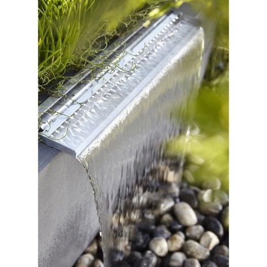 Kit bassin fontaine cascade pompe cours d 39 eau au - Fontaine de jardin leroy merlin ...