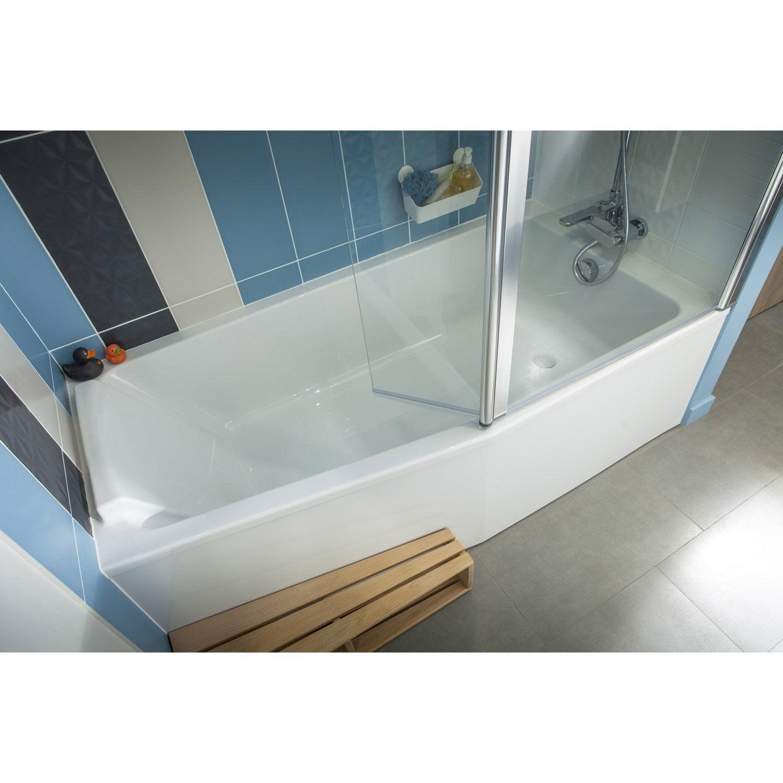 Baignoire L.170x l.85 cm, JACOB DELAFON Sofa bain et douche