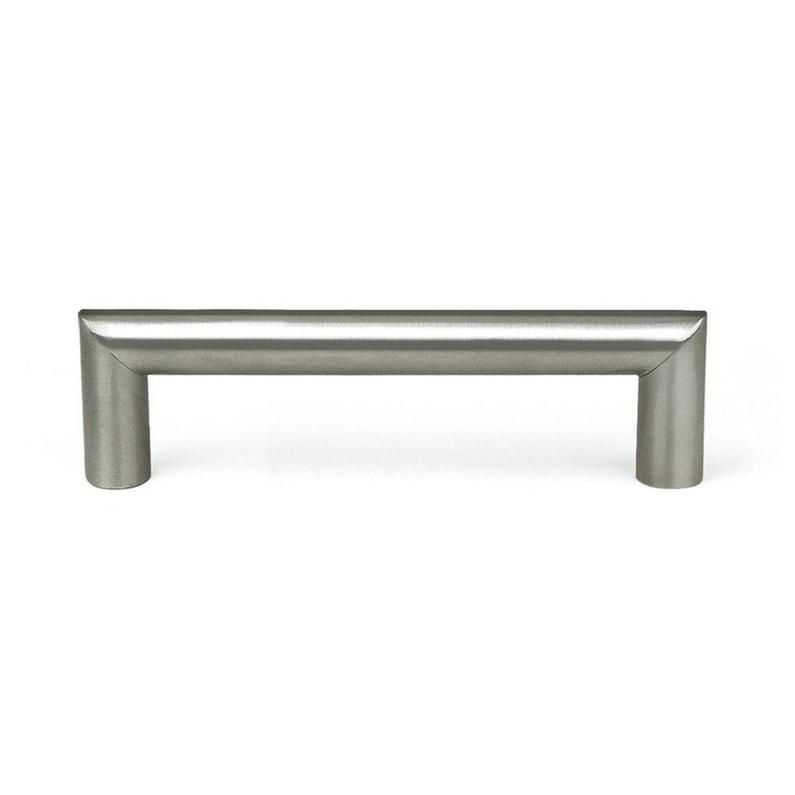 Poignée de meuble inox brossé, entraxe 96 mm   Leroy Merlin 5eea36c239e7