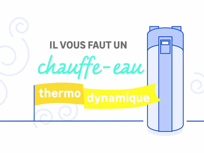 Le chauffe-eau thermodynamique, un chauffe-eau économe