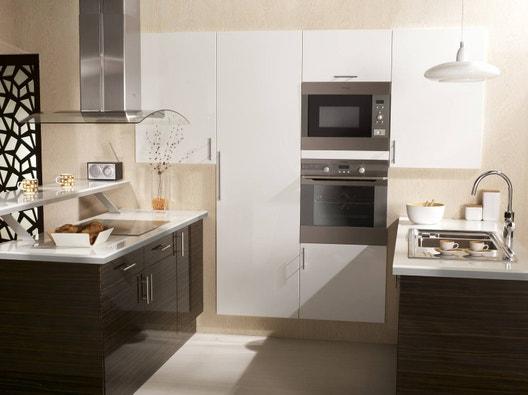 electrom nager four hotte r frig rateur et plaque de. Black Bedroom Furniture Sets. Home Design Ideas