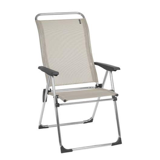 fauteuil de jardin en aluminium cham seigle leroy merlin. Black Bedroom Furniture Sets. Home Design Ideas