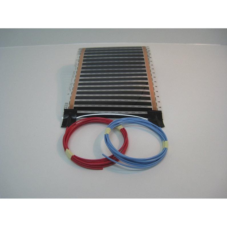Tapis Chauffant électrique Sud Rayonnement Ecofilm Set 40 W L100 X L50 Cm