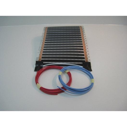 tapis chauffant lectrique sud rayonnement ecofilm set 664 w l800 x l100 - Tapis Chauffant