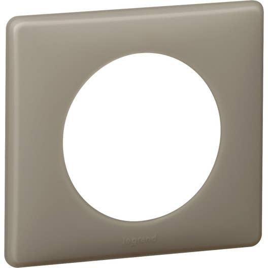 plaque simple c liane legrand gr s leroy merlin. Black Bedroom Furniture Sets. Home Design Ideas