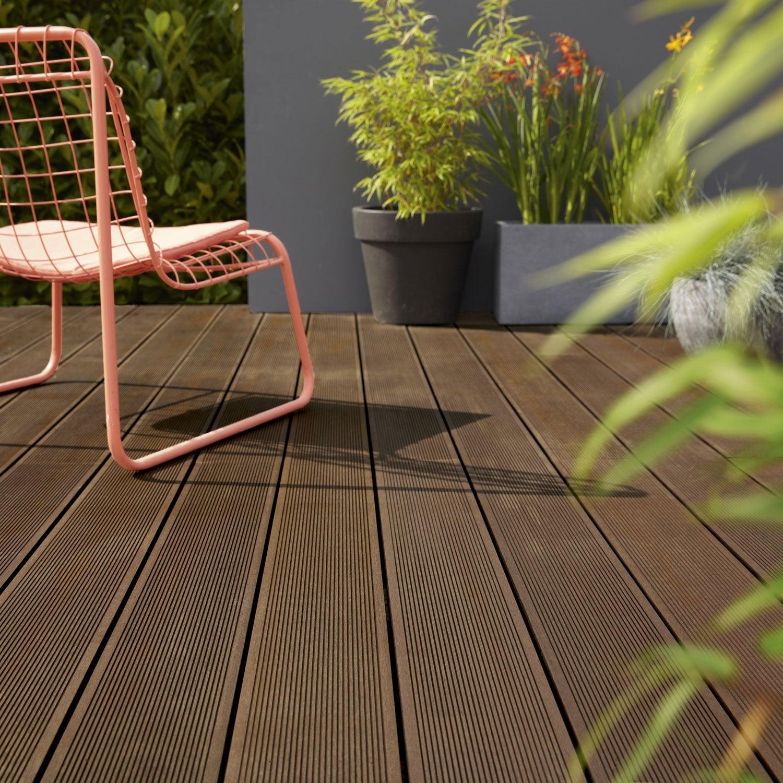 planche composite primo brun fonc x cm x mm leroy merlin. Black Bedroom Furniture Sets. Home Design Ideas