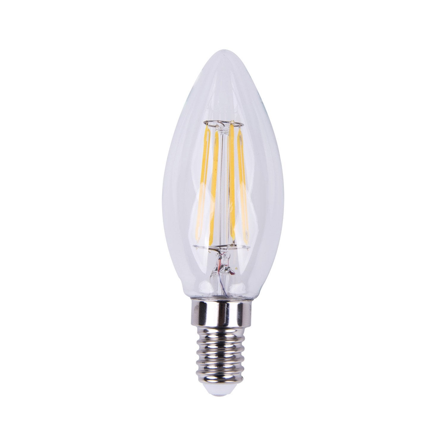 2700k Filament Flamme 360° Ampoule 40wE14 5w470lméquiv Led Lexman ulF13TcJ5K