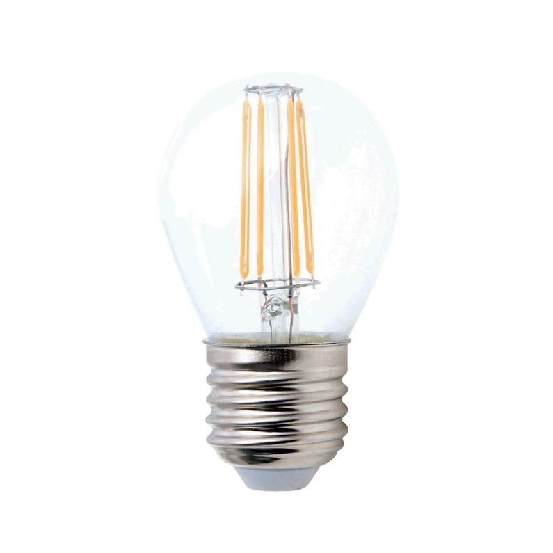 Ampoule Sphérique Led 5w 470lm équiv 40w E27 2700k 360 Lexman