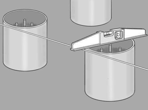 finest dcoupez les tronons de tube pvc la longueur requise pour dpasser le niveau du sol with. Black Bedroom Furniture Sets. Home Design Ideas