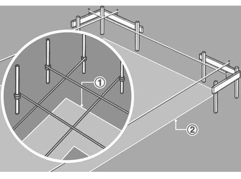 comment r aliser une semelle filante leroy merlin. Black Bedroom Furniture Sets. Home Design Ideas