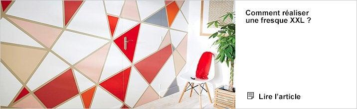 Peinture murale couleur - Pedago Réaliser une fresque XXL