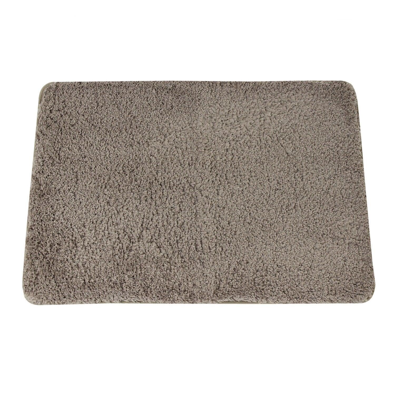 Tapis de bain l.50 x L.80 cm fossil n°3, Icône SENSEA