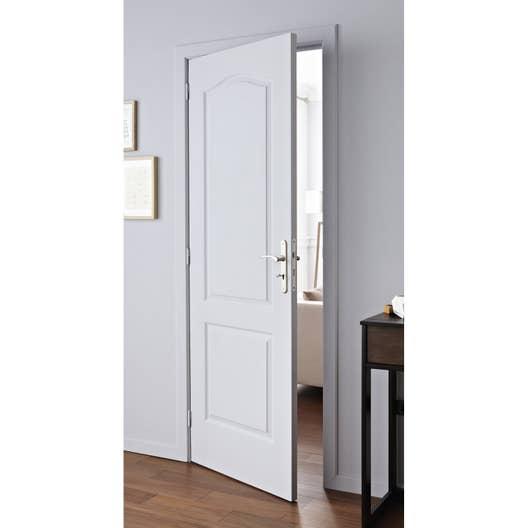 bloc porte postform x cm poussant gauche leroy merlin. Black Bedroom Furniture Sets. Home Design Ideas