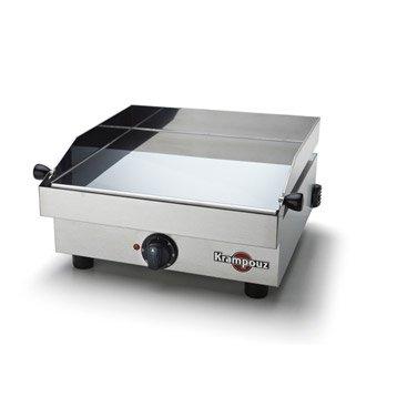 Plancha électrique KRAMPOUZ Saveur 1600w, inox