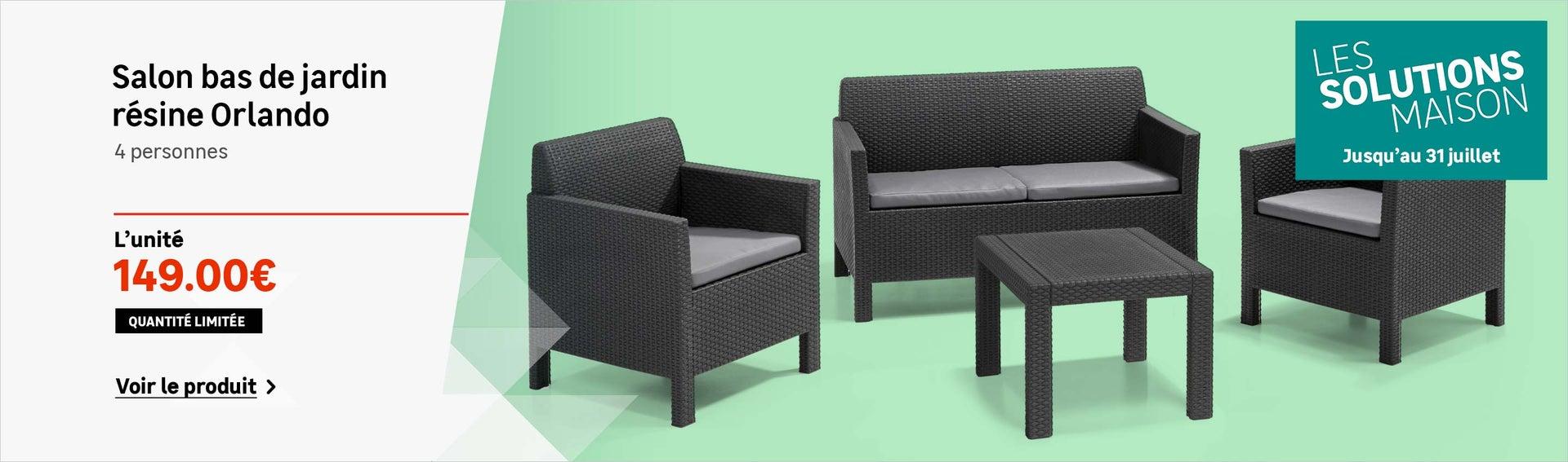 Salon de jardin table et chaise mobilier de jardin - Table et chaise de salon ...