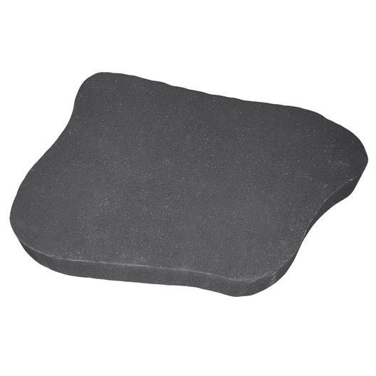 pas japonais ludik en b ton gris ardoise x x ep 4 cm leroy merlin. Black Bedroom Furniture Sets. Home Design Ideas