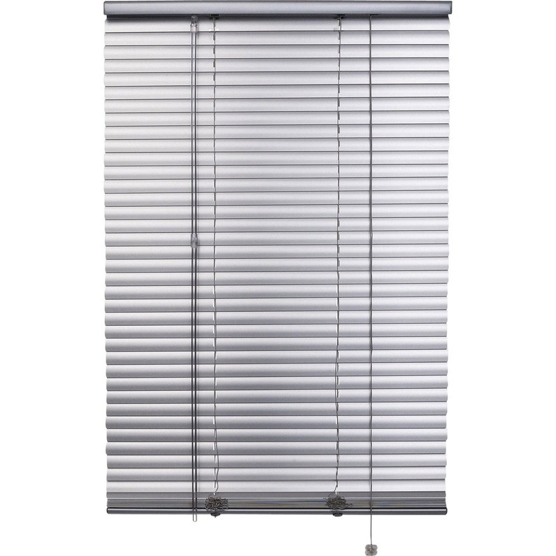 Store Vénitien Aluminium Aluminium Satiné L 80 X H 250 Cm