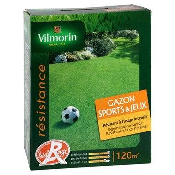Gazon sport et jeux VILMORIN 120 m²