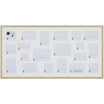 Cadre Lario, 50 x 100 cm, chêne clair