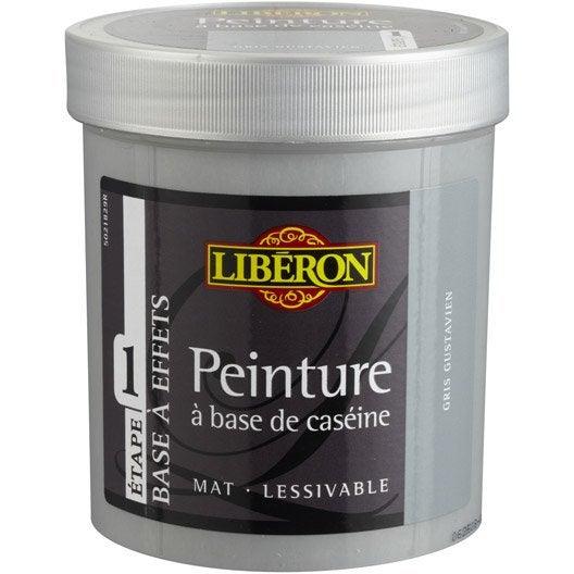 Peinture effet base cas ine mat profond liberon gris for Peinture effet patine