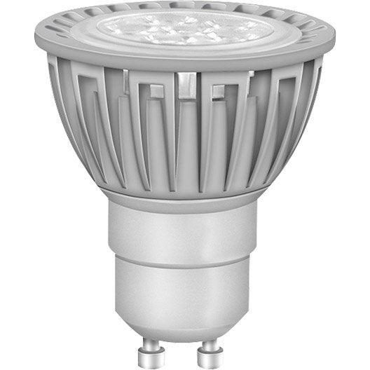 Ampoule r flecteur led 5w 350lm quiv 50w gu10 3000k for Ampoule led osram gu10