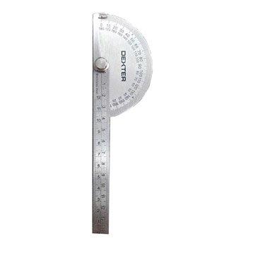 Rapporteur d'angle porte-crayon DEXTER, 14.5 cm