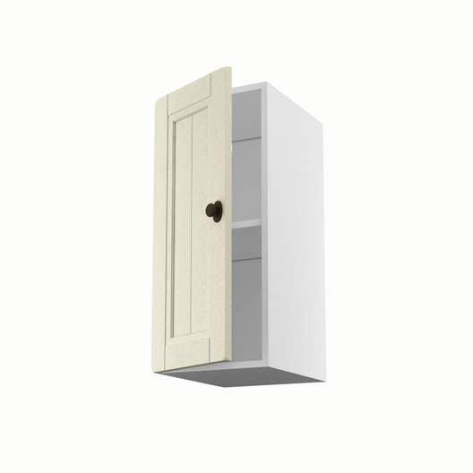 meuble de cuisine haut beige 1 porte tradition x x cm leroy merlin. Black Bedroom Furniture Sets. Home Design Ideas