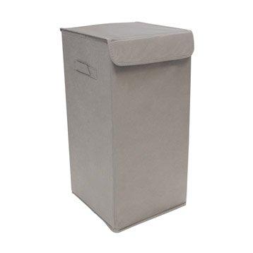 panier malle et boite de rangement rangement de salle de bains leroy merlin. Black Bedroom Furniture Sets. Home Design Ideas