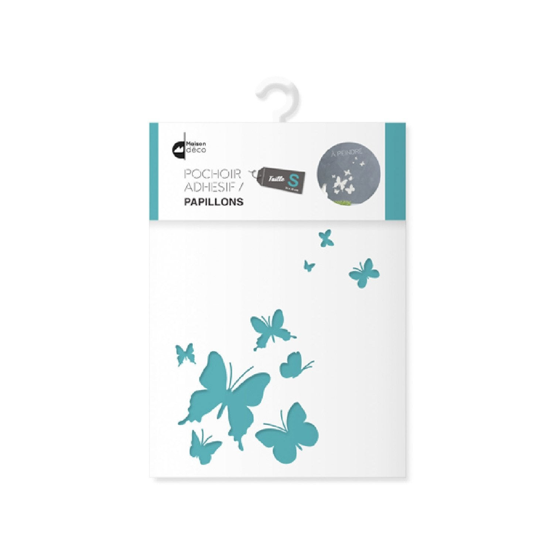Pochoir S Papillons Maison Deco Leroy Merlin