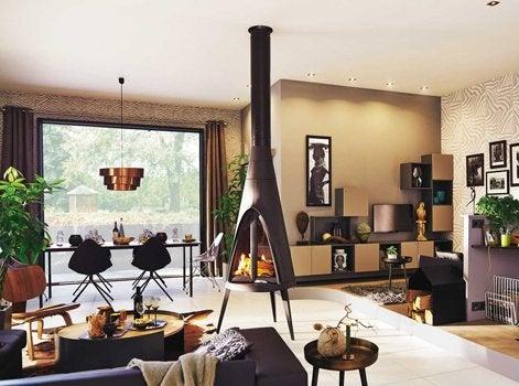 tout savoir sur les po les bois leroy merlin. Black Bedroom Furniture Sets. Home Design Ideas