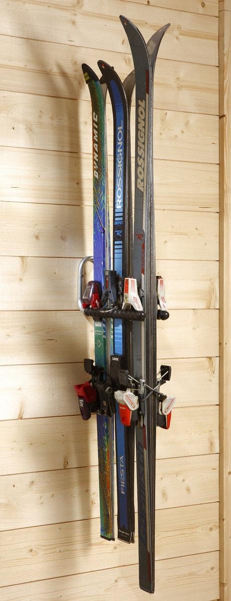 Un simple crochet-double en support de skis