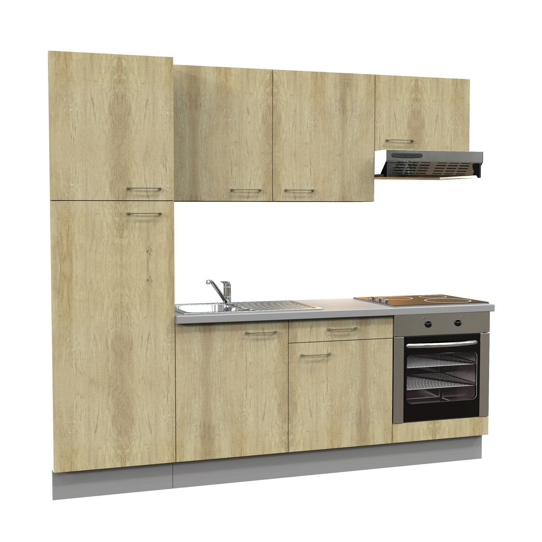 cuisine quip e imitation ch ne clair cm. Black Bedroom Furniture Sets. Home Design Ideas