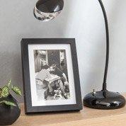 Cadre Milo, 13 x 18 cm, noir