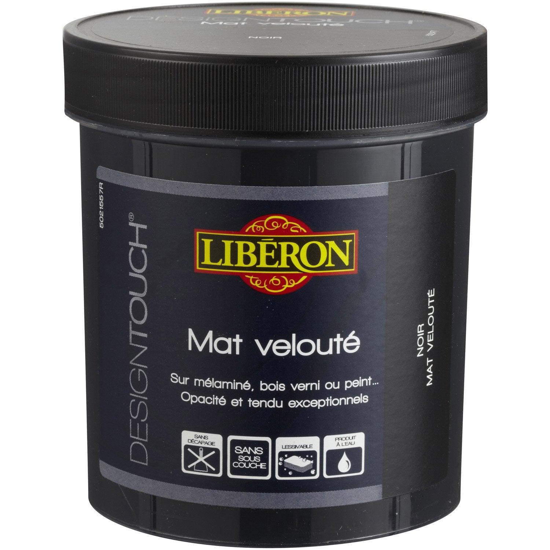 incroyable Peinture à effet, mat, LIBERON Design touch, noir, 0.5 l