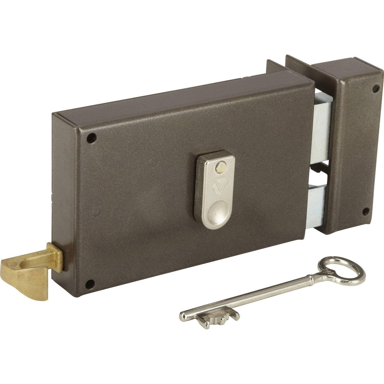 Serrure Monopoint En Applique Serrure Et Cylindre De Serrure Au - Porte placard coulissante jumelé avec vachette serrure