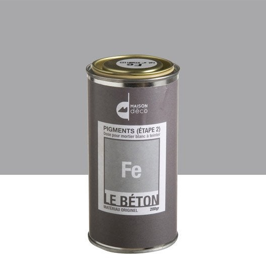 peinture effet pigment le b ton maison deco fe 0 2 kg leroy merlin. Black Bedroom Furniture Sets. Home Design Ideas