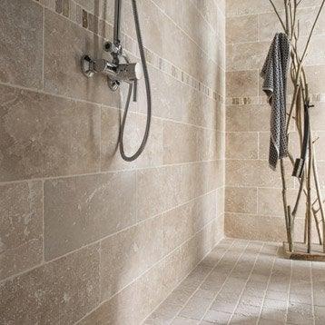 D cor listel et accessoires carrelage mural leroy merlin for Carrelage salle de bain beige texture