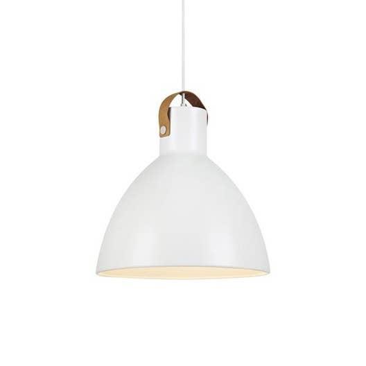 suspension e27 scandinave eagle m tal blanc 1 x 60 w markslojd leroy merlin. Black Bedroom Furniture Sets. Home Design Ideas