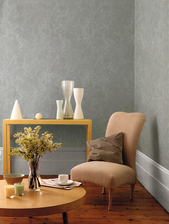Papier peint pour salon moderne beautiful d papier peint - Salon peint en gris ...