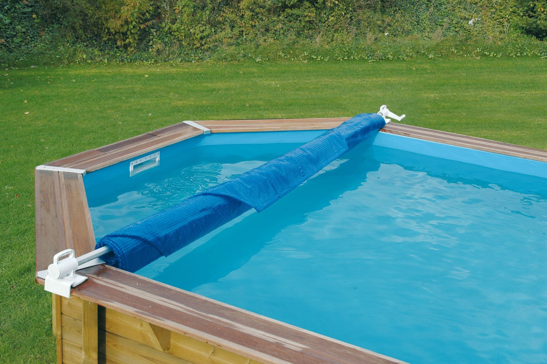 un enrouleur de b che pour piscine hors sol leroy merlin. Black Bedroom Furniture Sets. Home Design Ideas