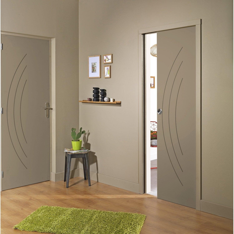 Bloc porte isoplane aven x cm poussant droit for Les portes des chambres en bois